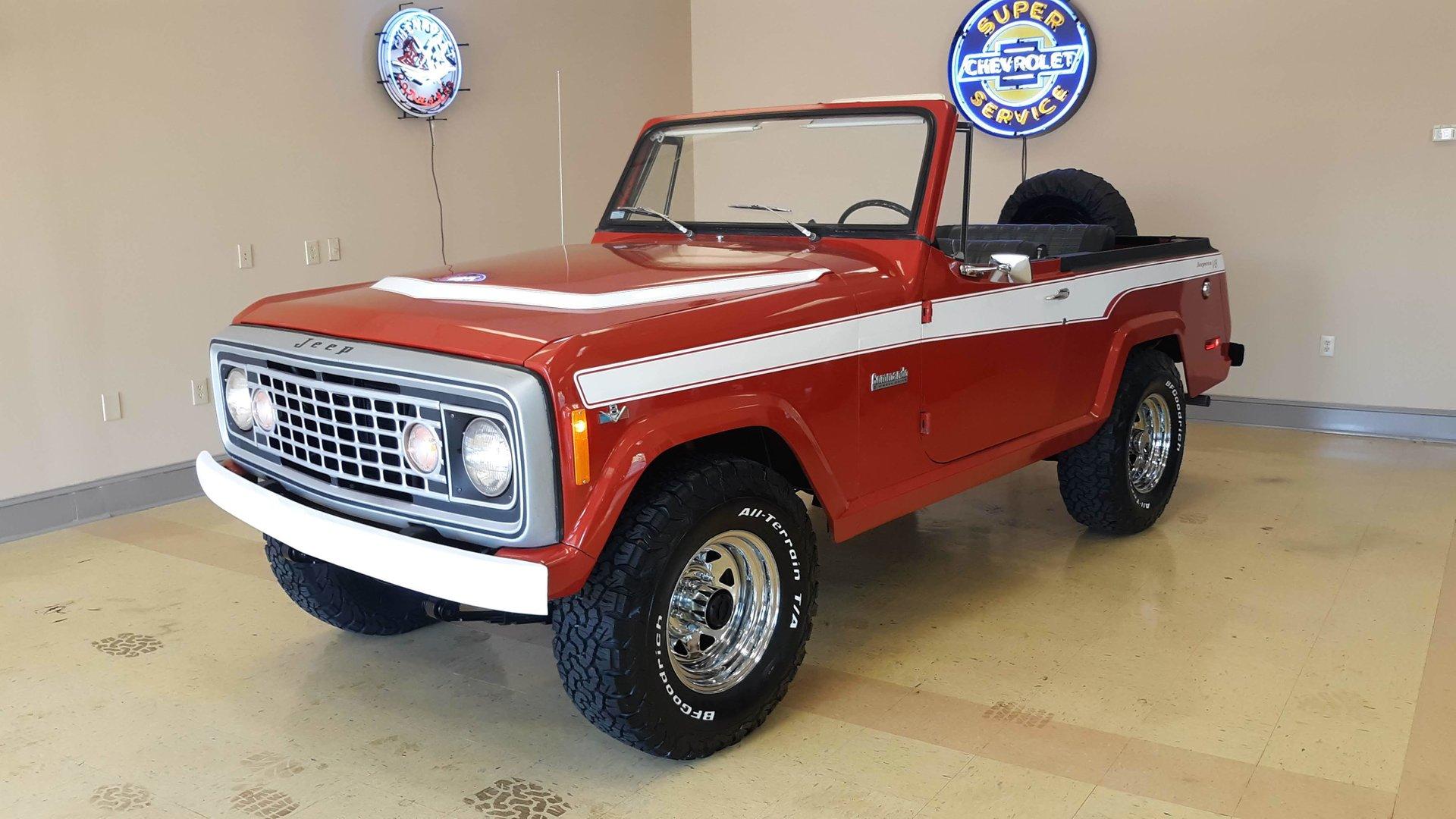 hight resolution of 1973 jeep commando