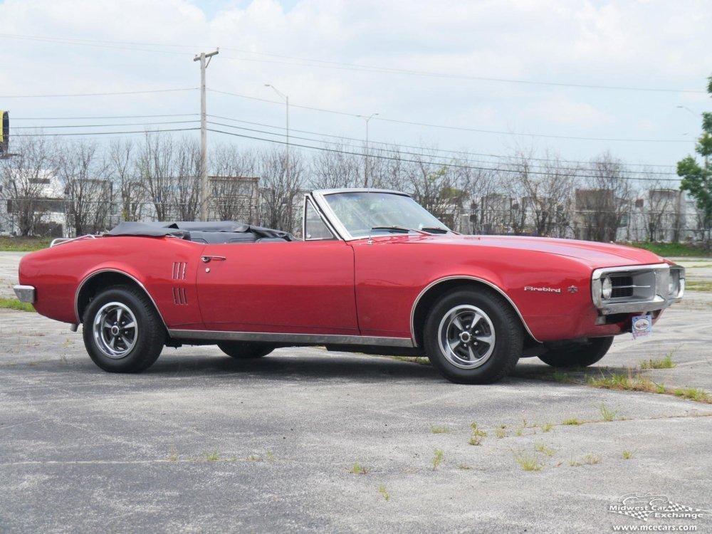 medium resolution of 1967 pontiac firebird convertible
