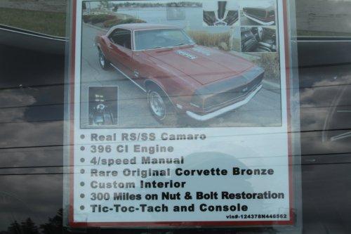 small resolution of 1968 chevrolet camaro ss