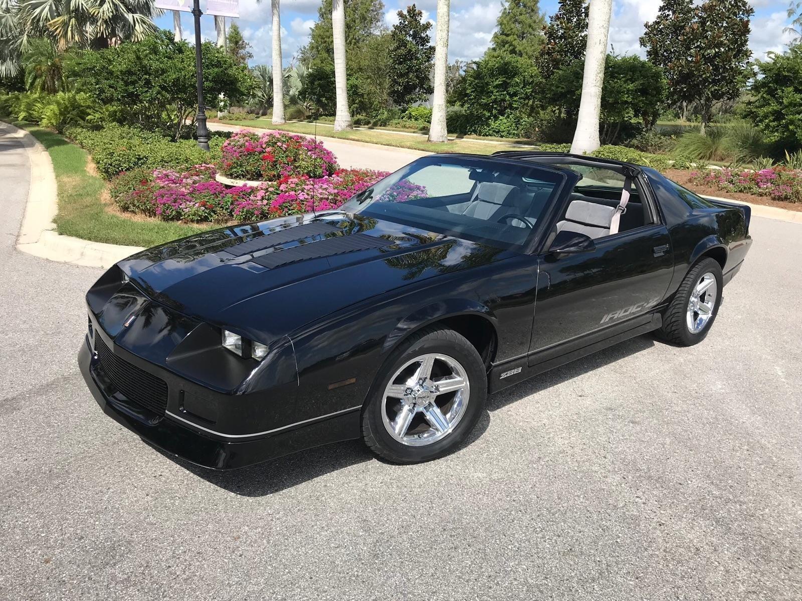 hight resolution of 1985 chevrolet camaro iroc z28 coupe