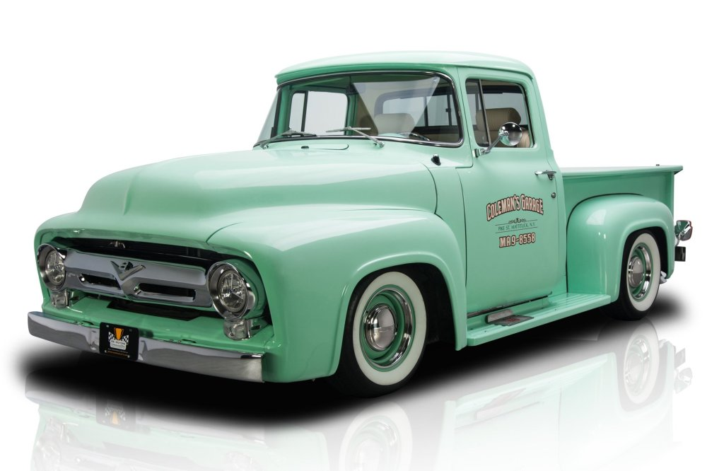 medium resolution of frame off built f100 pickup 5 0l efi coyote v8 4r70w 4 speed auto ps a c leather