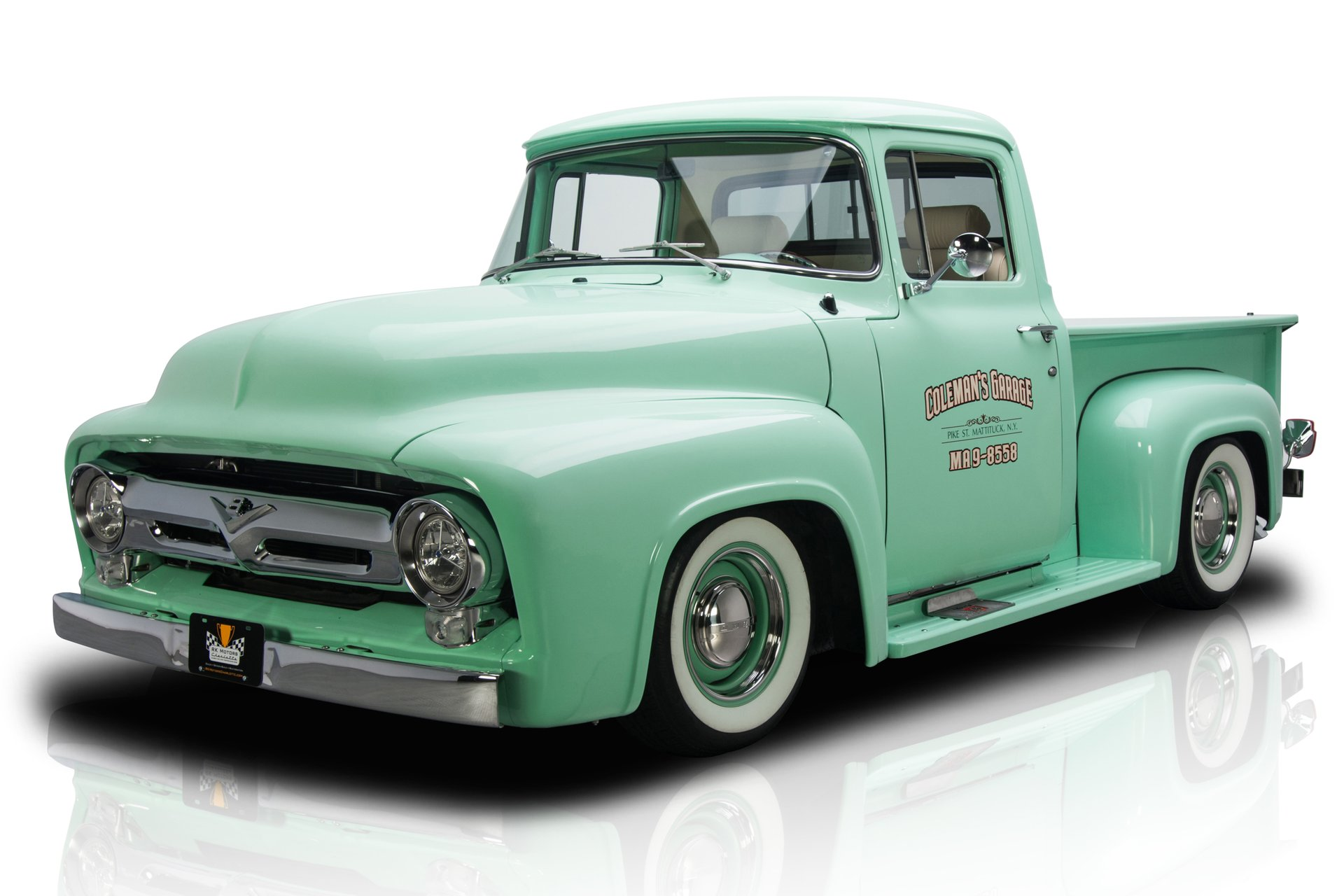 hight resolution of frame off built f100 pickup 5 0l efi coyote v8 4r70w 4 speed auto ps a c leather