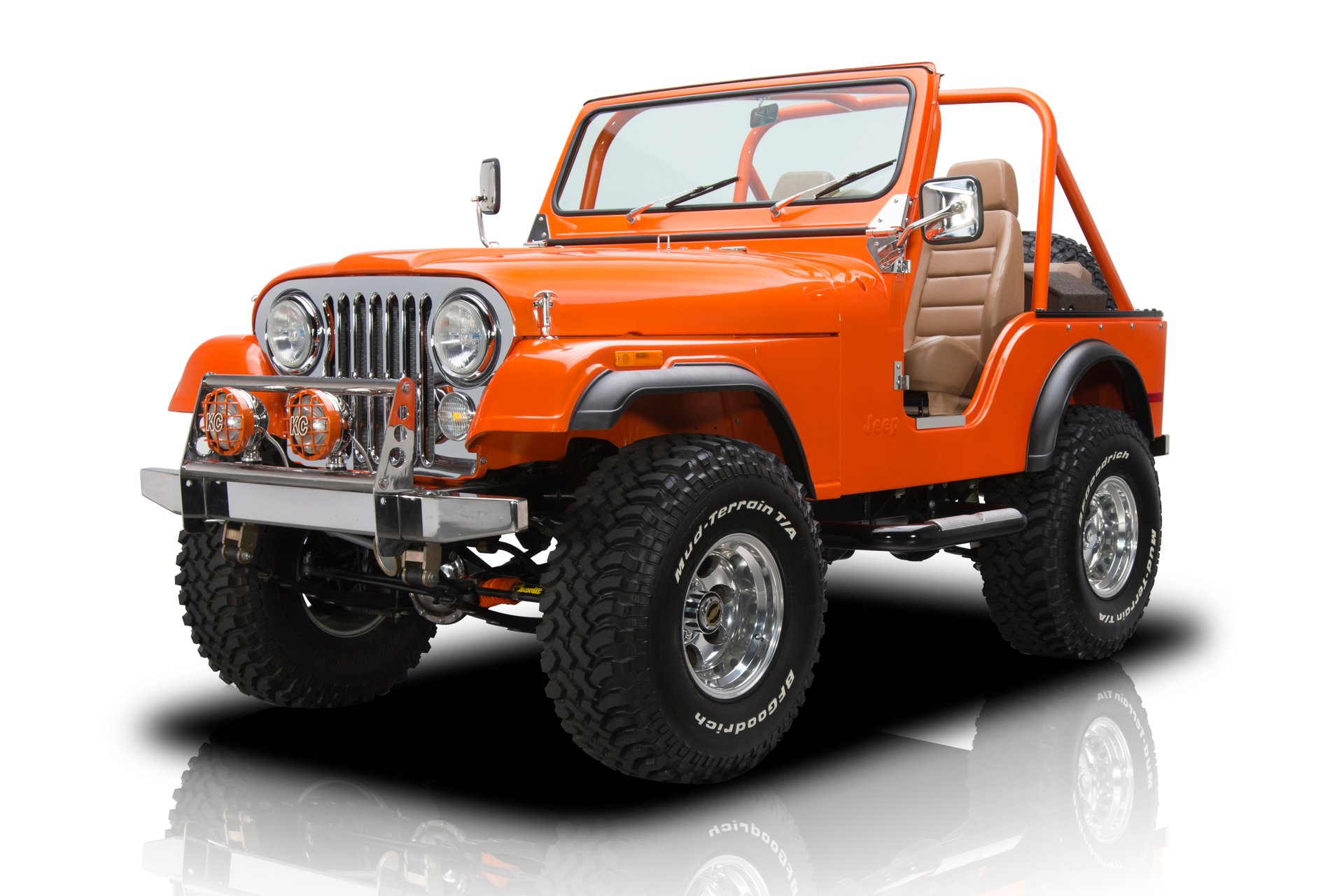 hight resolution of body off restored jeep cj 5 350 v8 4 speed manual ps 4 wheel drive roll bar