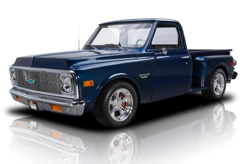 small resolution of frame off built c10 stepside restomod 500hp 383 v8 auto od air conditioning