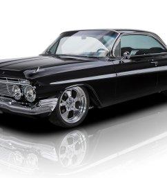 frame off restored black on black impala bubbletop efi 355 v8 700r4 4spd ac [ 1920 x 1280 Pixel ]