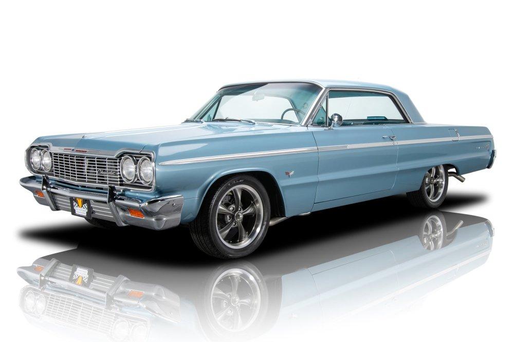 medium resolution of award winning restored impala ss restomod 327 v8 4spd automatic a c