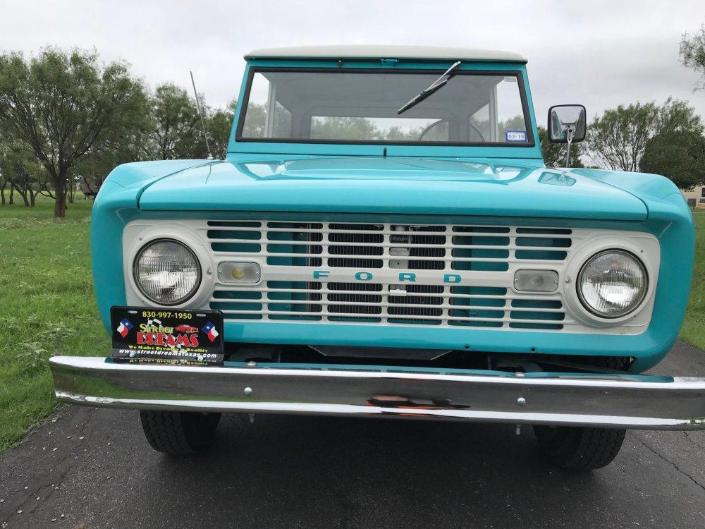 medium resolution of  1966 ford bronco