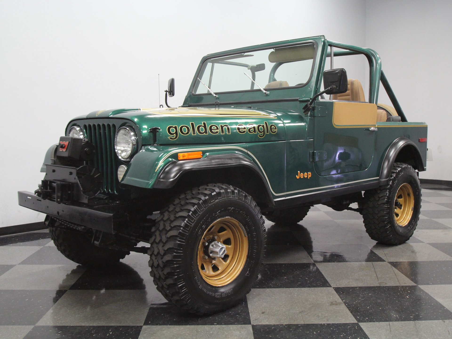 hight resolution of for sale 1980 jeep cj7 spincar view play video view 360
