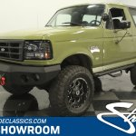 1996 Ford Bronco Classic Cars For Sale Streetside Classics The Nation S 1 Consignment Dealer