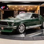 Consoles Parts Automotive 67 68 Mustang Fastback Custom Center Console Shifter Restomod Pro Touring