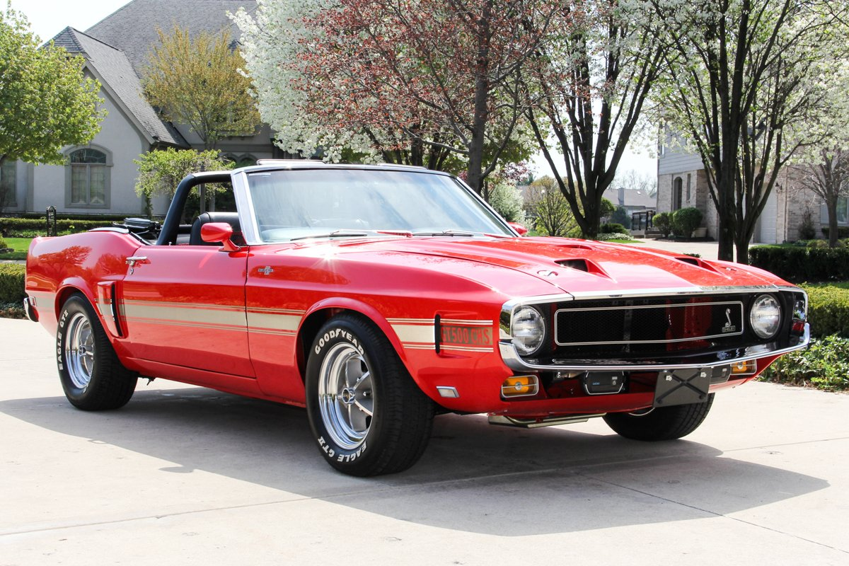 1970 Ford Mustang Gt Convertible