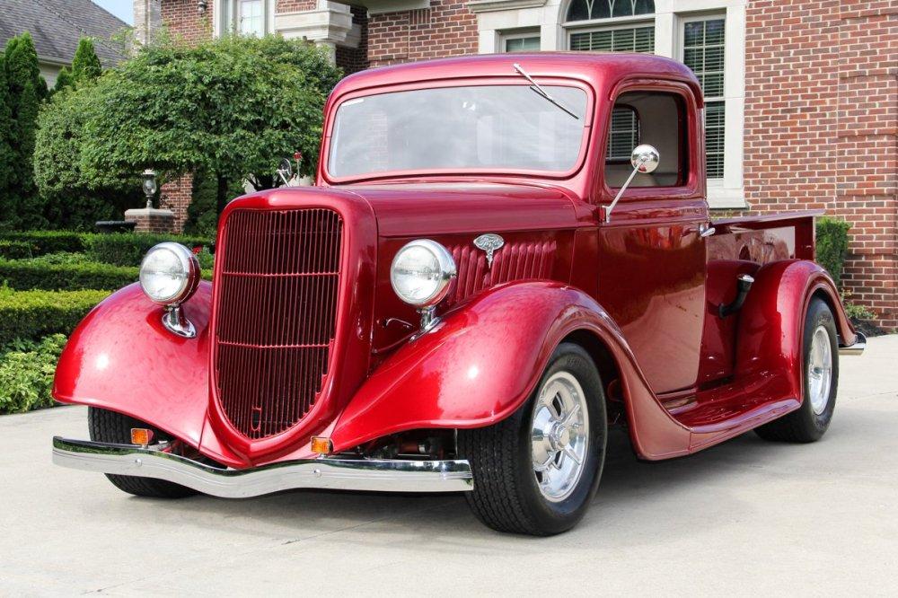 medium resolution of 1935 ford pickup street rod