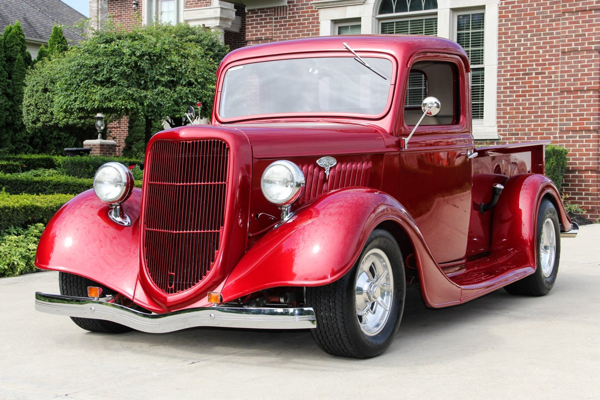 hight resolution of 1935 ford pickup street rod