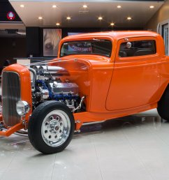 1932 ford 3 window coupe street rod [ 1500 x 1000 Pixel ]