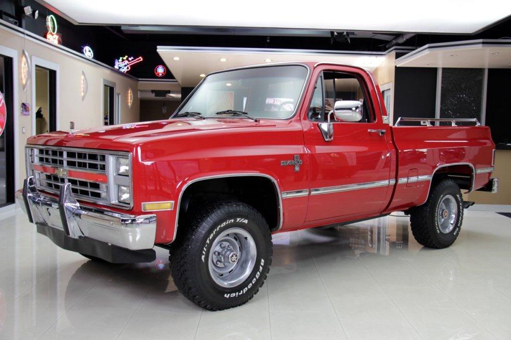 medium resolution of 1985 chevrolet silverado 4x4 pickup