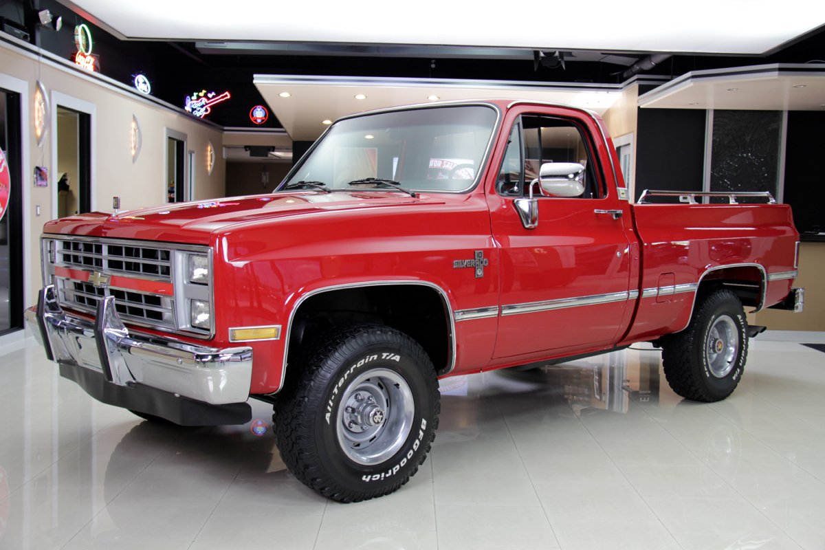 hight resolution of 1985 chevrolet silverado 4x4 pickup