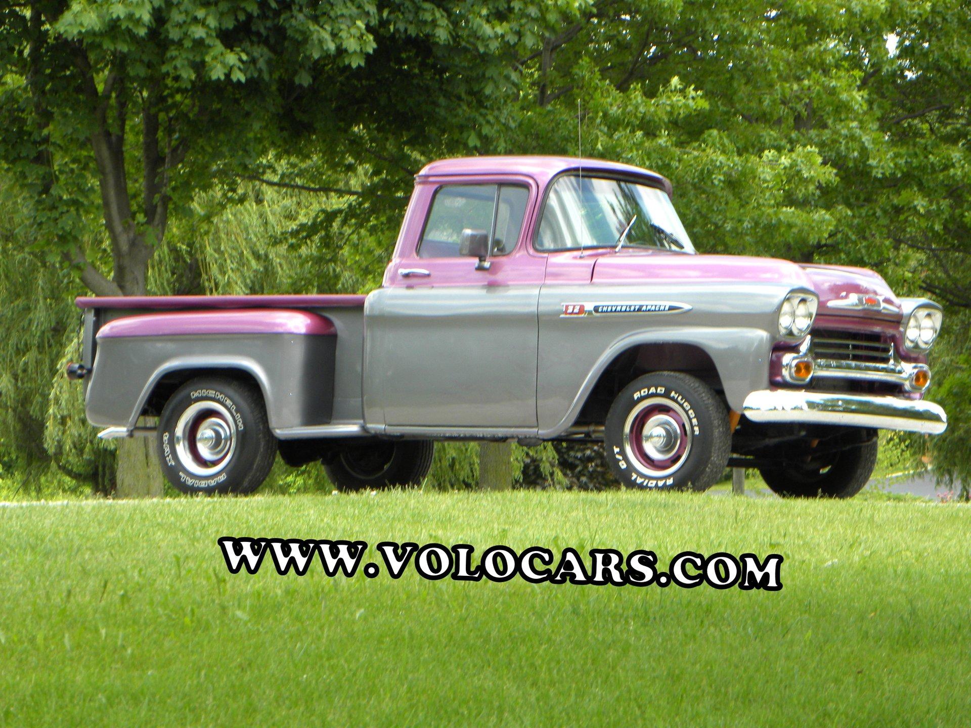 hight resolution of 1959 chevrolet apache short bed custom 32