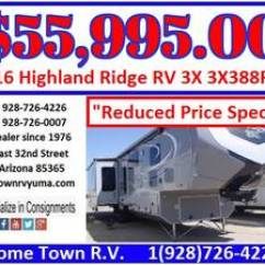 Keystone Rv Dealers In Yuma Az Bryant Heat Pump Wiring Diagram Pre Owned Inventory Home Town 2016 Highland Ridge 3x 3x388rks