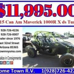 Keystone Rv Dealers In Yuma Az 2000 Ford F350 Headlight Switch Wiring Diagram Pre Owned Inventory Home Town 2015 Can Am Maverick 1000r X Ds Turbo R V