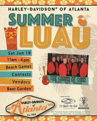Summer Luau Party