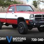 1992 Dodge W 250 Victory Motors Of Colorado