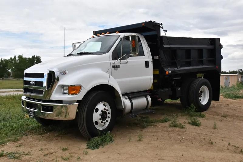 2015 ford f750 dump truck insight automotive  [ 1125 x 750 Pixel ]