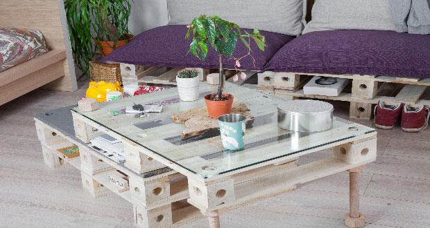 des meubles en palette a transformer