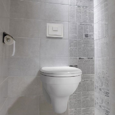 le carrelage wc se met a la couleur