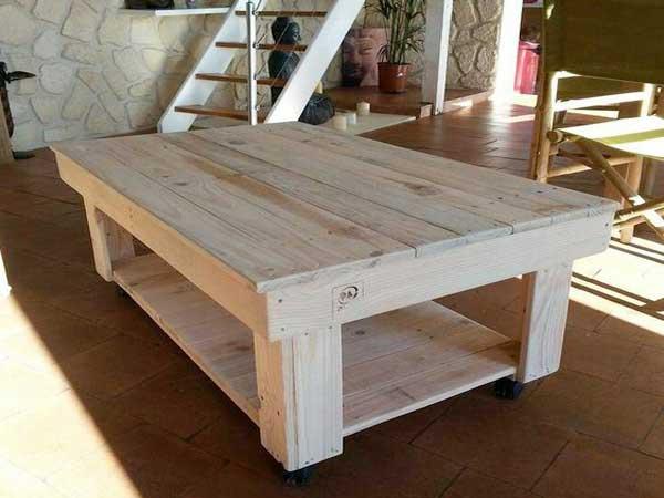 une table basse palette deco cool
