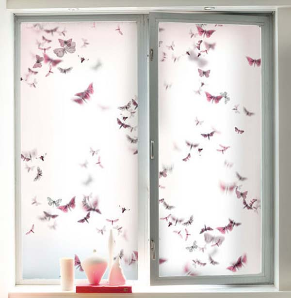 Decorative Window Film For Office Kitchen Or Living Room