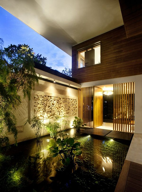 Garden Based Modern Residence With A Wonderful Panorama The Meera