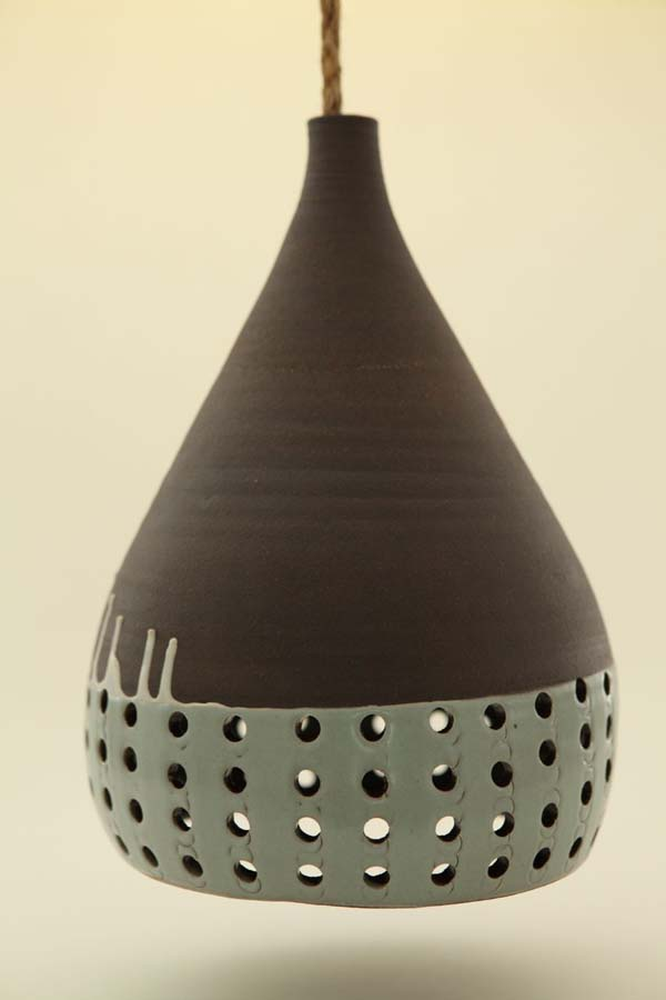 Heather Levines Ceramic Hanging Pendant Lights
