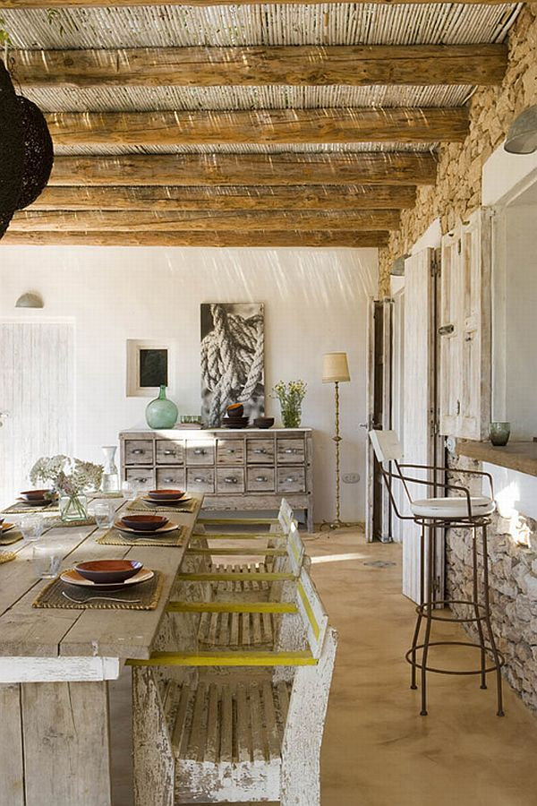 Rustic Looking Spectacular Spanish House On Formentera Island