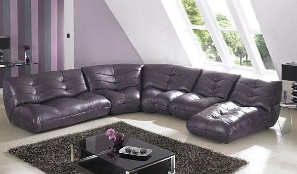 curved sectional sofa set custom sofas 7 modern l shaped designs for your living room