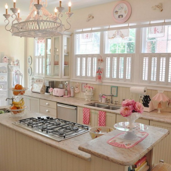 cute retro kitchen Vintage, Yet Romantic, Kitchen to Suit Your Taste