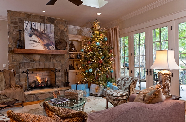 modern light oak living room furniture arrangement for small rectangular christmas tree ideas: how to decorate a