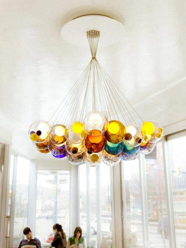 Amazing Glass Ball Chandeliers Add To Bocci S Credibility