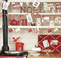 Christmas Kitchen Decoration Ideas: Curtains, Tablecloth ...
