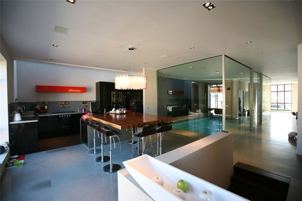 Threelevel loft style apartment in Brussels with amazing