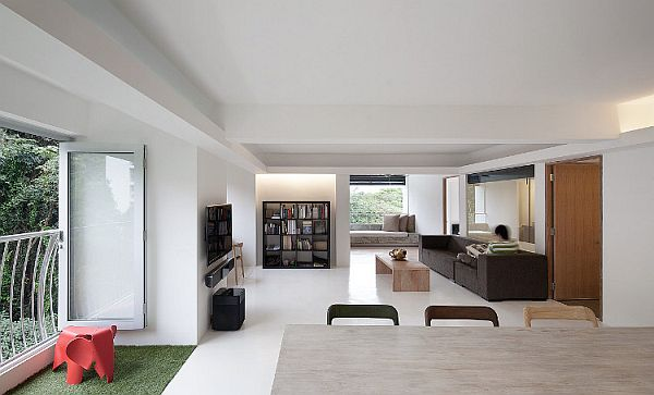 Minimalist Singapore House 1 Minimalist Singapore House Redefines Open Spaces Concept