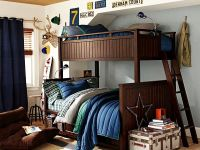 bunk beds teenage boys room idea - Decoist