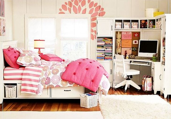 Bedroom Girls Room Blue Modern House Decorating Inspiration For All