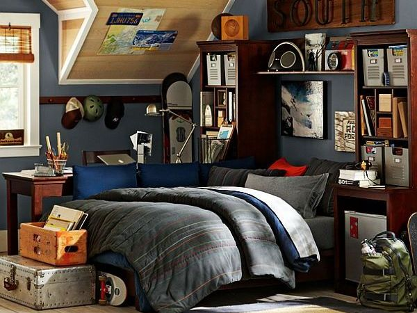 sports teenage boy bedroom  Decoist