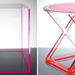 Occasional Table And Chairs Convert Office Chair To Stool Maximize Your Space With Acrylic Furniture