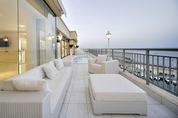 luxury leather living room sets pictures of small decor penthouse in malta: new heights extravaganza