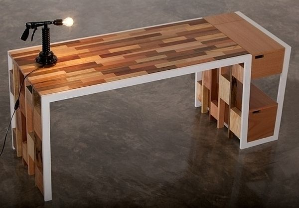 Recycled Wooden Furniture Office Desk Sideboard