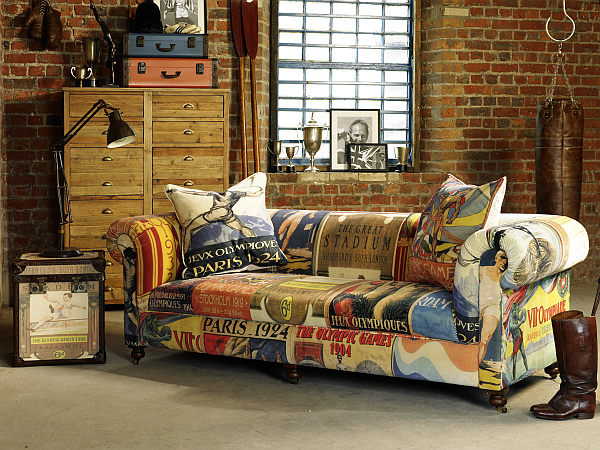 Vintage Olympicinspired Living Room Furniture from Barker  Stonehouse