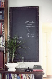 Chalkboard Paint Ideas: When Writing on the Walls Becomes Fun
