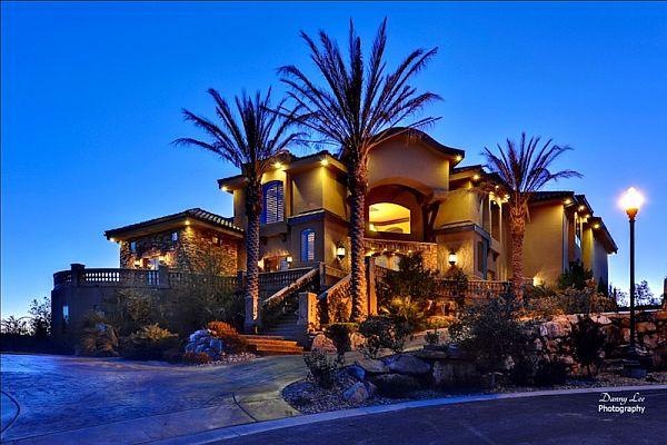luxury tuscan style mansion