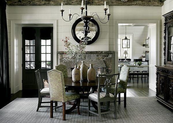 Luxury Rustic Interiors Blue Ridge Mountains Home 5